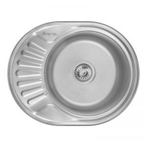 Кухонная мойка Imperial 5745 (0,6мм) Micro Decor 160 мм