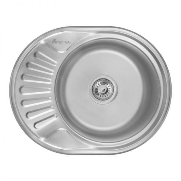Кухонная мойка Imperial 5745 (0,6 мм) Satin 160 мм