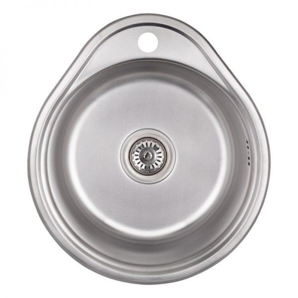 Кухонная мойка Imperial 4843 (0.6 мм) Satin