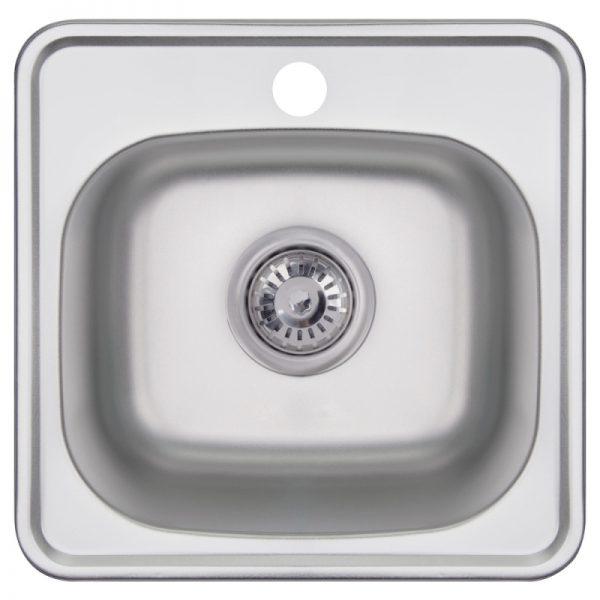 Кухонная мойка Imperial 3838 (0.6 мм) Decor