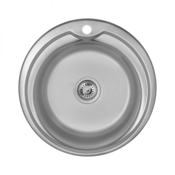 Кухонная мойка Imperial 510-D (0,6 мм) Micro Decor