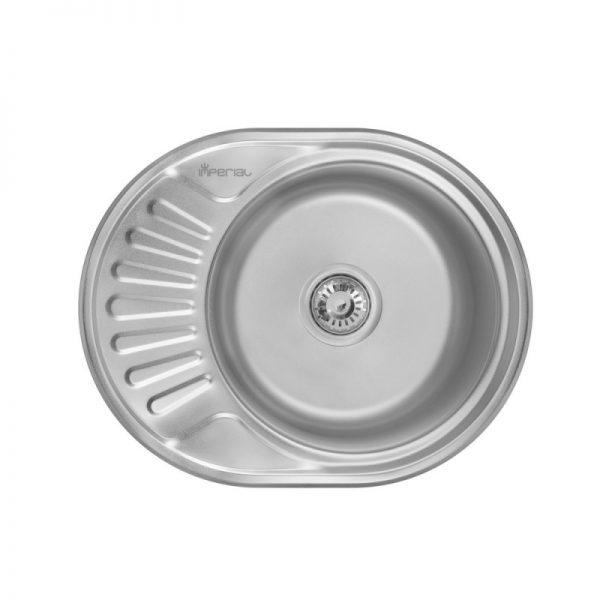 Кухонная мойка Imperial 5745 (0,6мм) Polish
