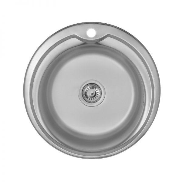 Кухонная мойка Imperial 510-D (0,6 мм) Satin