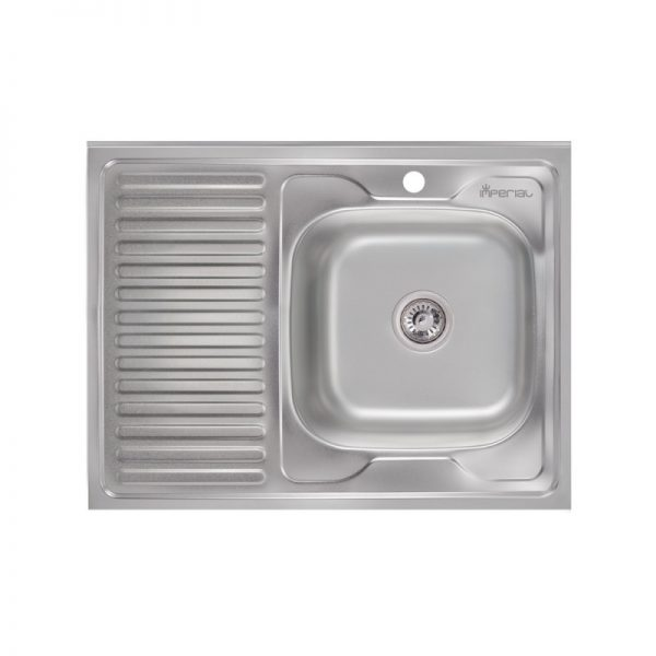 Кухонная мойка Imperial 6080-R (0,6 мм) Decor