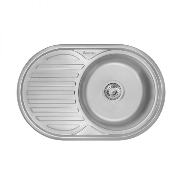 Кухонная мойка Imperial 7750 (0,6 мм) Micro Decor
