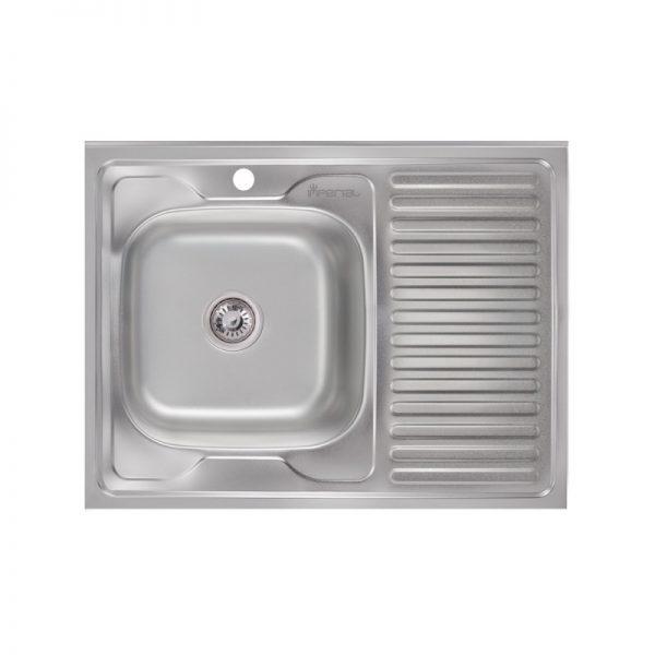 Кухонная мойка Imperial 6080-L (0,6 мм) Polish