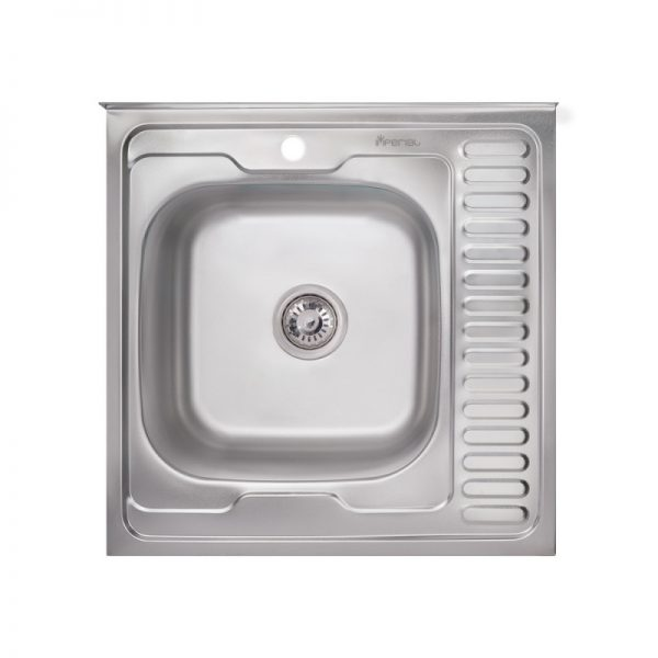 Кухонная мойка Imperial 6060-L (0,6мм) Decor