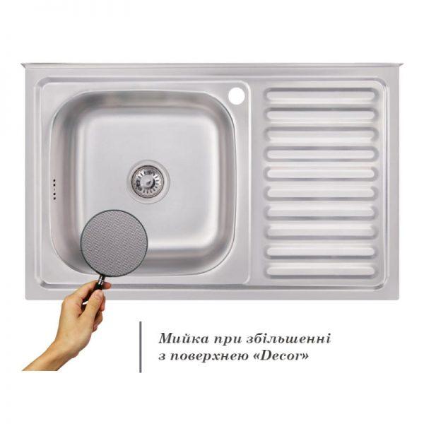 Кухонная мойка Imperial 5080-L Decor