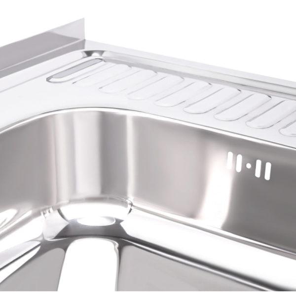 Кухонная мойка Imperial 6060-L (0,6мм) Polish