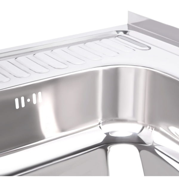Кухонная мойка Imperial 6060-R (0,6 мм) Polish