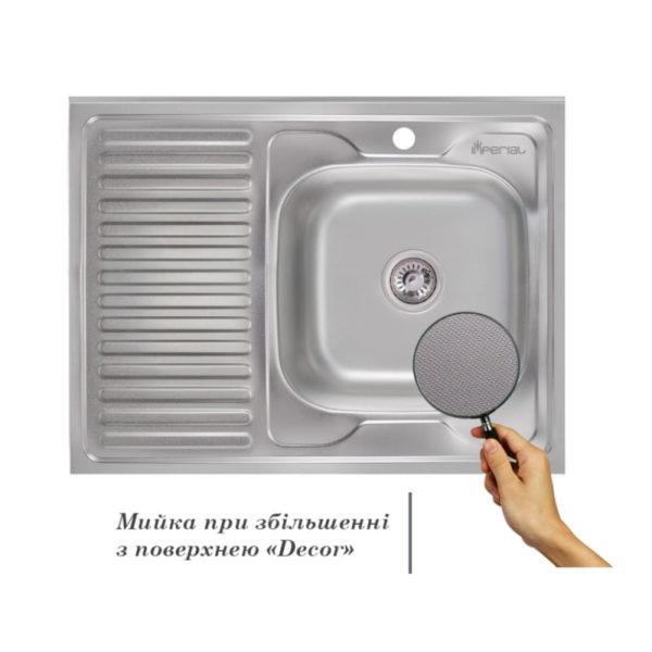 Кухонная мойка Imperial 6080-R Decor