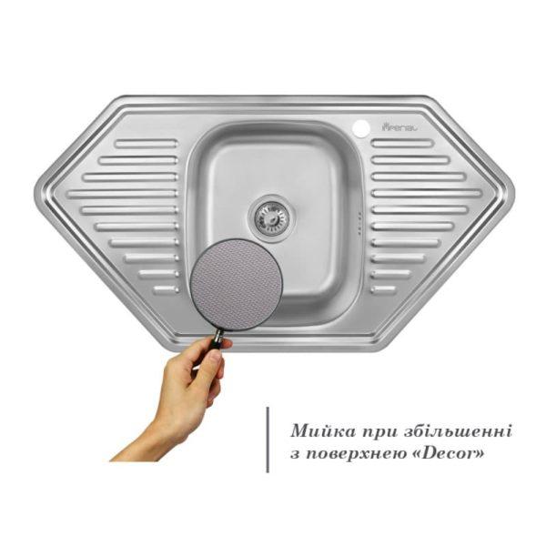 Кухонная мойка Imperial 9550-D Decor