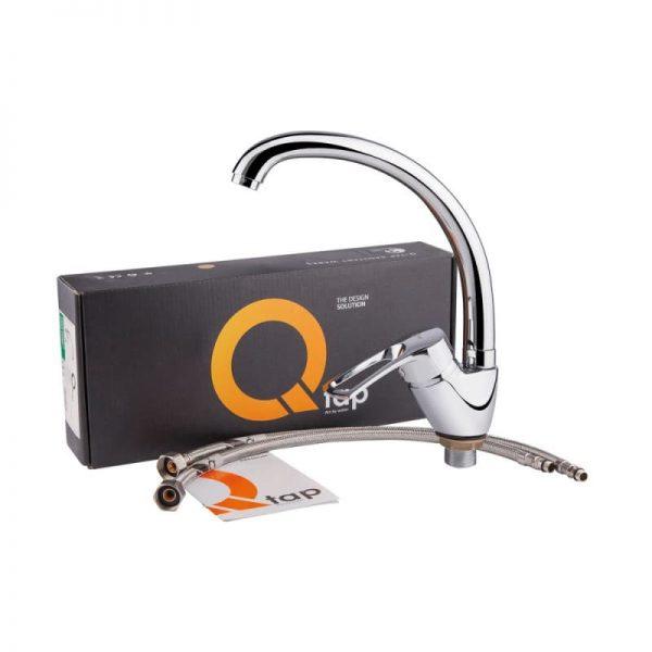 Смеситель для кухни Q-tap Hansberg CRM 008F