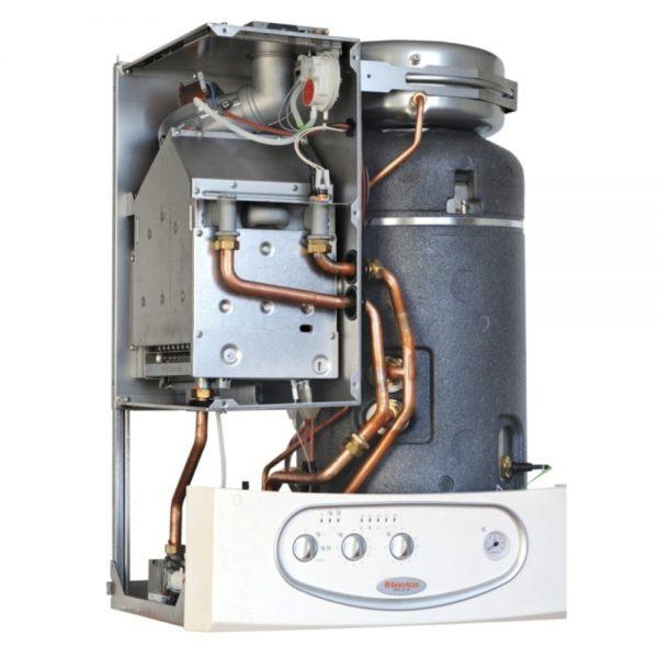 Котел газовый Immergas ZEUS 24 kW E + труба