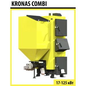 Котел твердотопливный Kronas COMBI 35