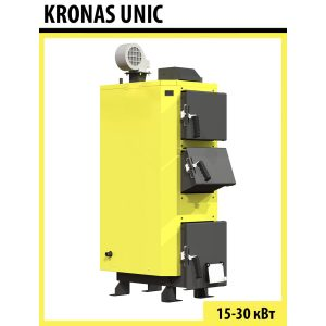 Котел твердотопливный Kronas UNIC 25