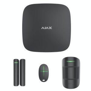 Стартовый комплект Ajax StarterKit Black (4в1)