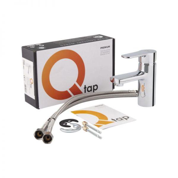 Смеситель для умывальника QT Eco CRM 001