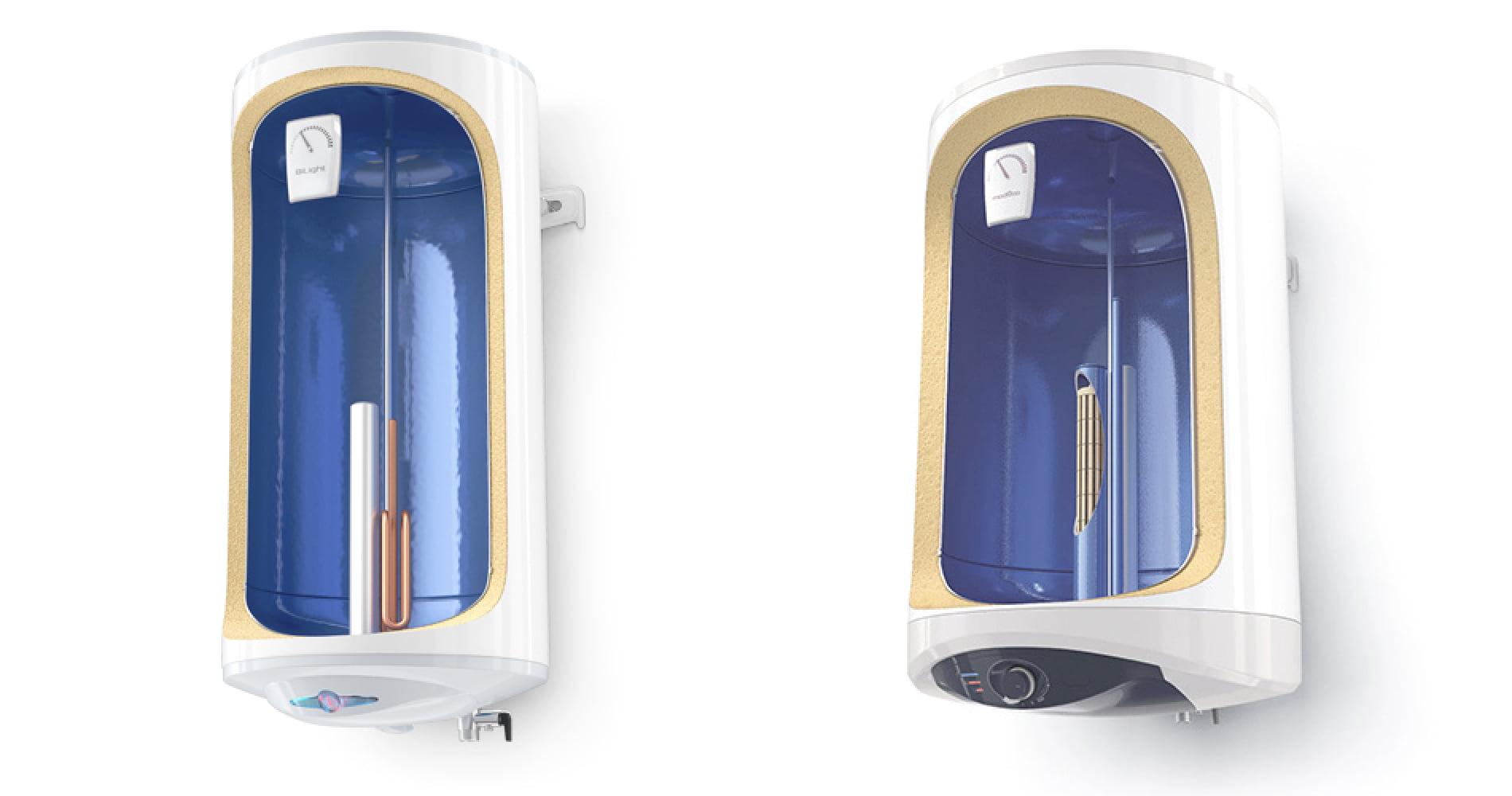 магниевый анод и бак водонагревателя