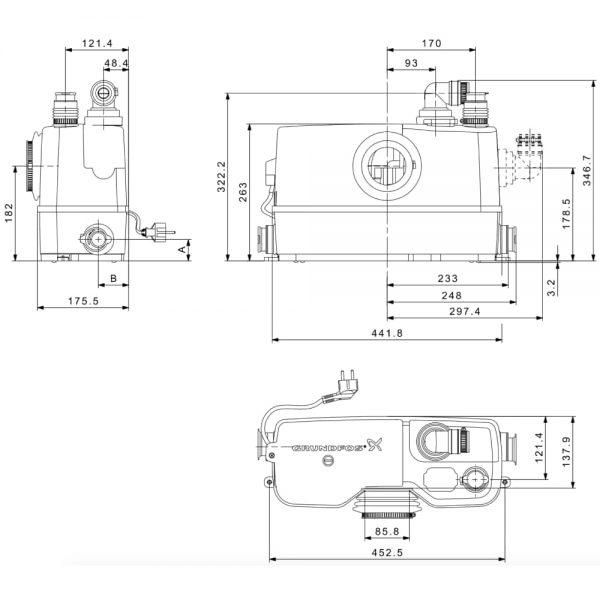 Установка Grundfos Sololift2 WC-3 (97775315)