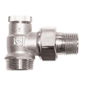 Радиаторный кран Herz RL-1 1/2 угловой нижний