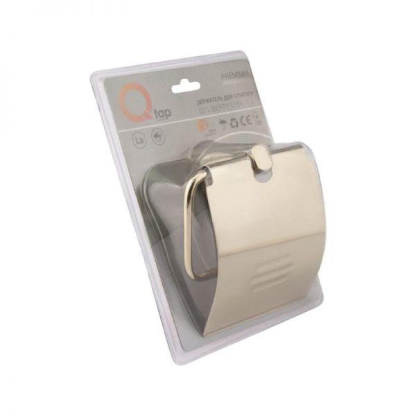 Держатель туалетной бумаги Q-tap Liberty ORO 1151