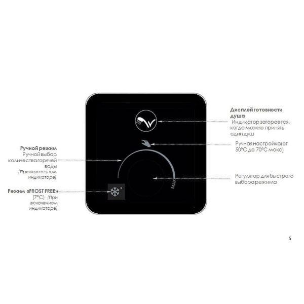 Водонагреватель Atlantic Vertigo OPRO MP 025 F220-2E-BL