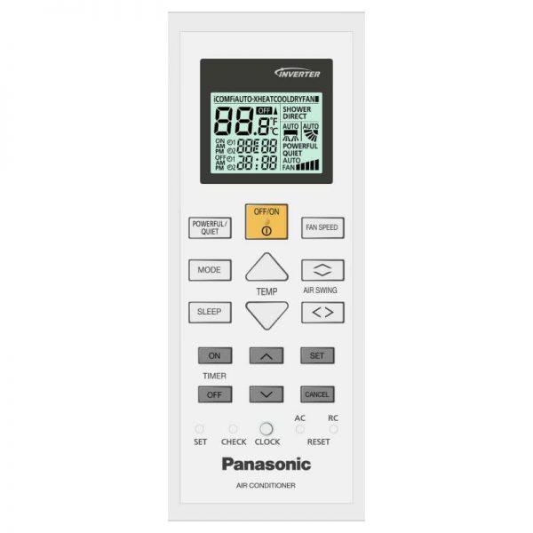 Инверторный кондиционер Panasonic CS/CU-XZ20TKEW Flagship Silver