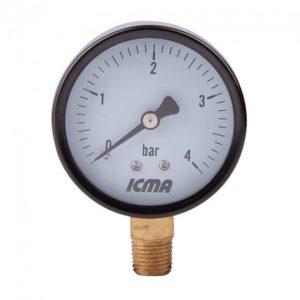 Манометр Icma №244 1/4″ 0-6 бар