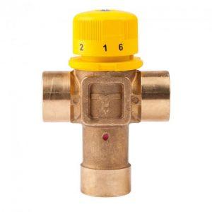 Смеситель термостатический Icma №S101 1″ для гелиосистемы