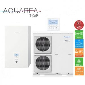 Тепловой насос Panasonic KIT-WXC12H6E5 T-CAP Aquarea