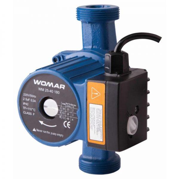 Циркуляционный насос Womar 25-40-180