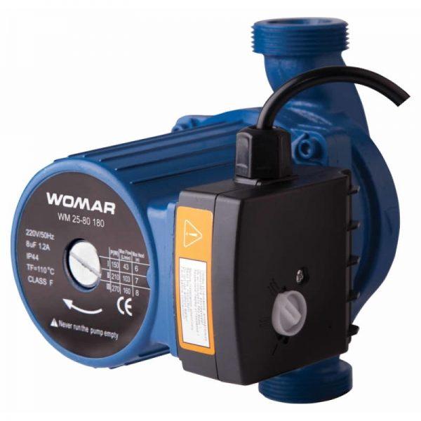 Циркуляционный насос Womar 25-80-180