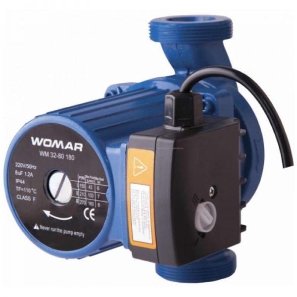 Циркуляционный насос Womar 32-80-180