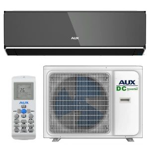 Кондиционер AUX HALO Black Mirror Inverter ASW-H12B4/HER3DI