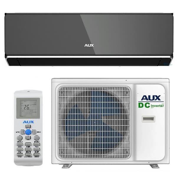 Инверторный кондиционер AUX HALO Black Mirror Inverter ASW-H12B4/HER3DI