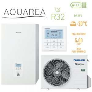 Тепловой насос Panasonic KIT-WC05J3E5 High Performance Aquarea R32