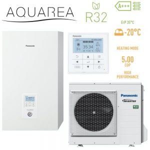 Тепловой насос Panasonic KIT-WC09J3E5 High Performance Aquarea R32