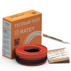 Одножильный нагревательный кабель Ratey RD1 1100Вт / 6,1 м2