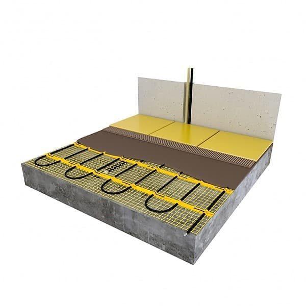 Мат нагревательный MAGNUM Mat 2,0 m2