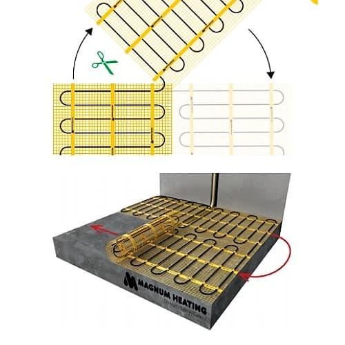 Мат нагревательный MAGNUM Mat 9,0 m2