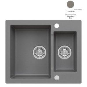 Кухонная мойка AXIS Mojito 80 Moonlight Grey (1.101.150.50)
