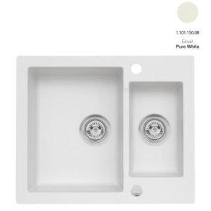 Кухонная мойка AXIS Mojito 80 Pure White (1.101.150.08)