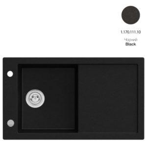 Кухонная мойка AXIS Tramontana Black (1.170.111.10)