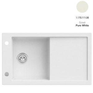 Кухонная мойка AXIS Tramontana Pure White (1.170.111.08)