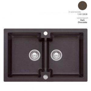Кухонная мойка AXIS Mojito 160 Dark Chocolate (1.101.120.30)