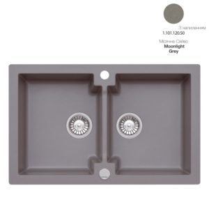 Кухонная мойка AXIS Mojito 160 Moonlight Grey (1.101.120.50)