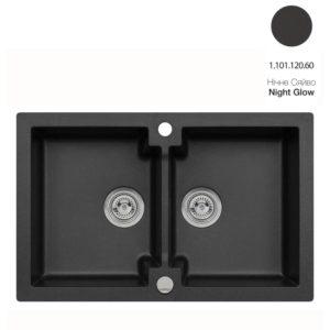 Кухонная мойка AXIS Mojito 160 Night Glow (1.101.120.60)