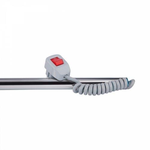 Полотенцесушитель Q-tap Snake Shelf (CRM) 500х500 RE