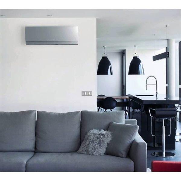 Кондиционер инверторный Mitsubishi Electric MSZ-EF50VGKS/MUZ-EF50VG Design + WiFi